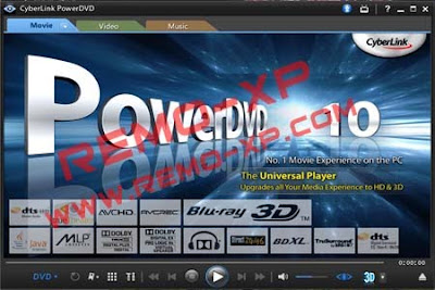 powerDVD 3D Mark 10