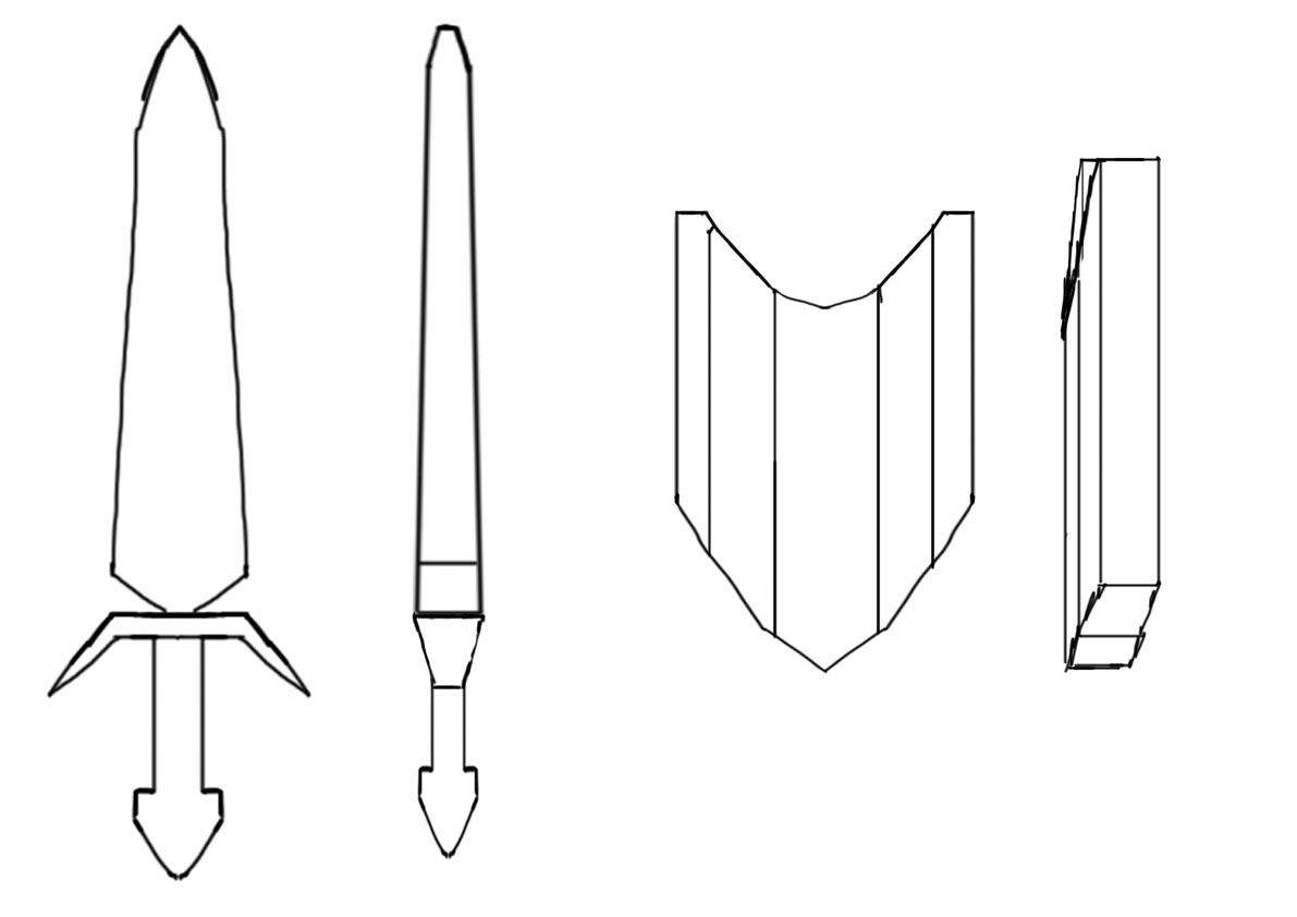 Roman Shield Designs Templates The second design was based on