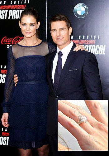 celebrity weddinng ring; katie holmes wedding ring; best wedding ring; wedding rings; most expensive wedding ring; wedding ring price