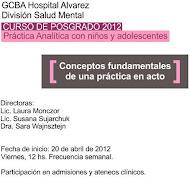 CURSO DE POSTGRADO EN CLÍNICA CON NIÑOS Y ADOLESCENTES ABRIL-NOV 2012