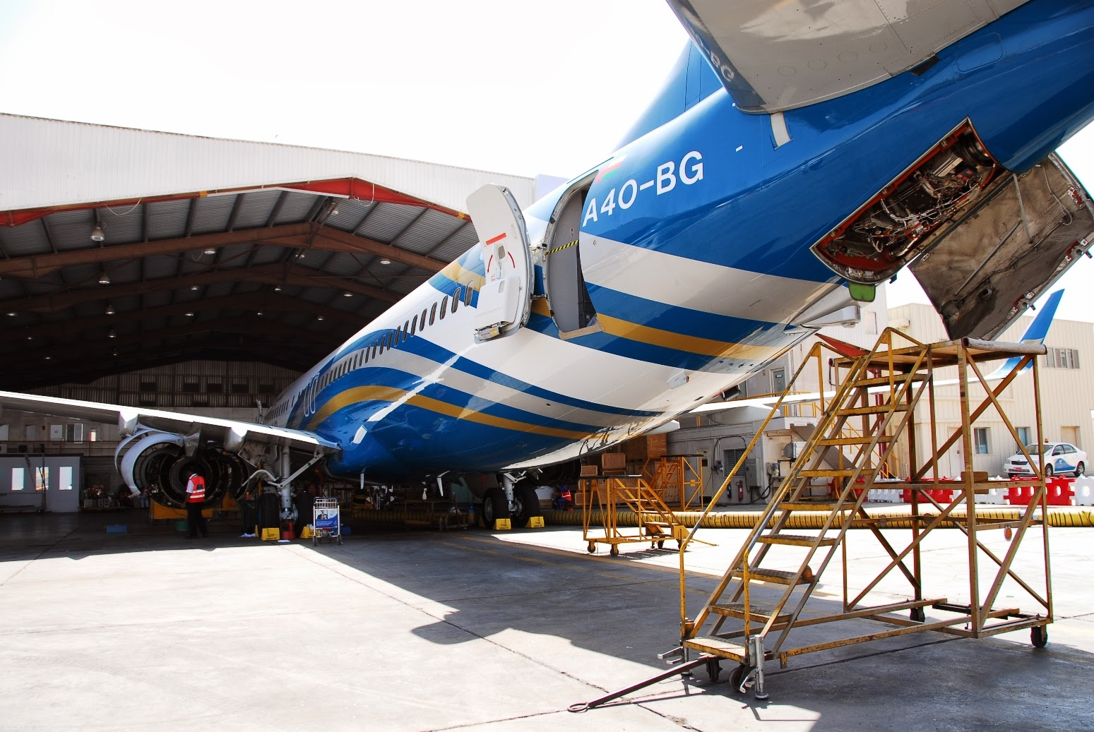 Oman Air Maintenance
