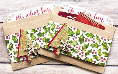 Oh What Fun Gift Card / Money Holders - Find out more here