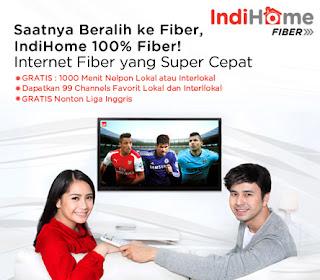 paket indihome fiber telkom