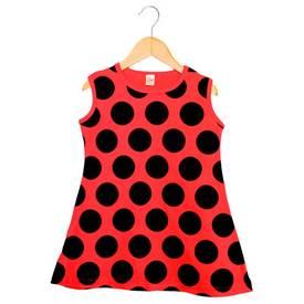 Image of Baby Lady Bug Print on a Dress