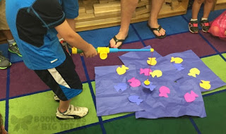 Shape Fishing for Kindergarten or Pre-K