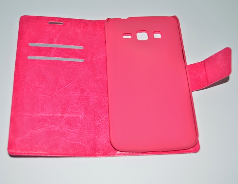 Leather-Case-Wallet-Stand-Samsung-Galaxy-Grand-2-Duos-Crazy-Horse-Texture-Magenta