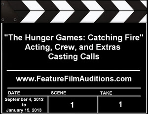 The Hunger Games: Catching Fire Auditions