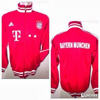 Jaket Bola Bayern Munchen Model Jersey
