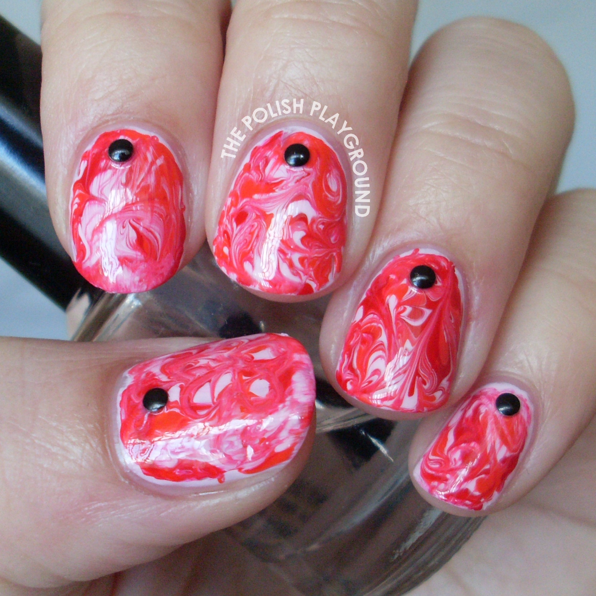 My Bloody Valentine Nail Art