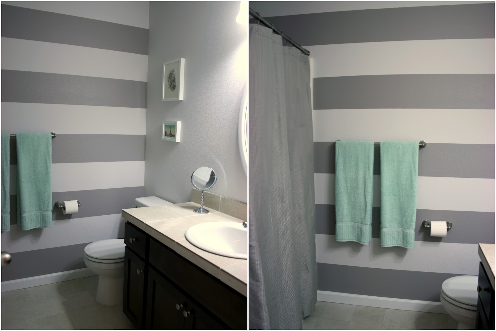 Gray Bathroom Paint Color Ideas 1600 x 1067