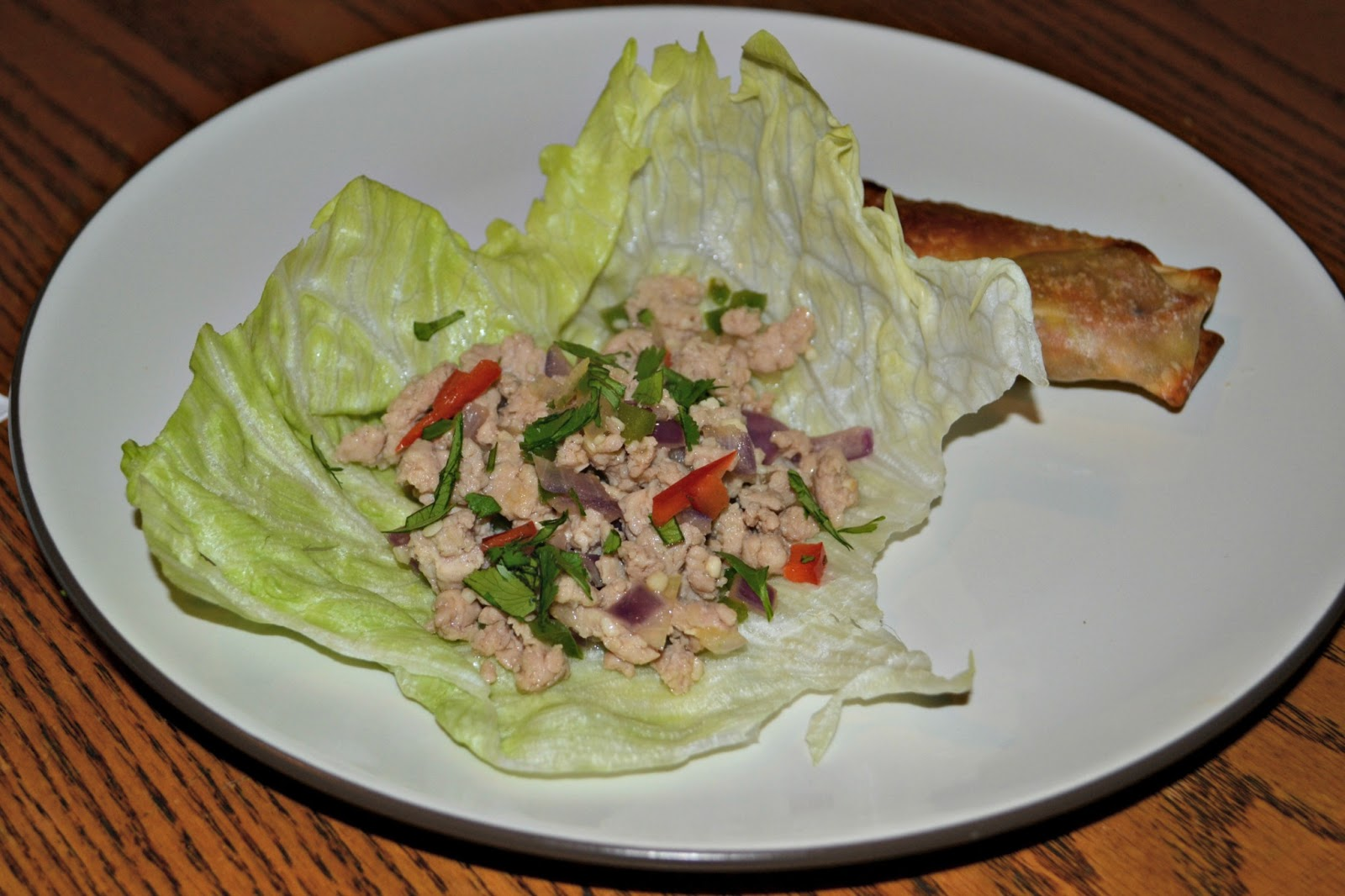 Thai Larb Chicken Lettuce Cups ( Reprinted with permission from Steamy ...
