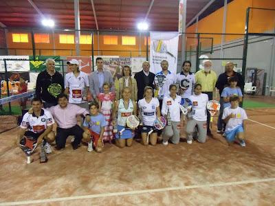 Campeones de España de pádel 2012