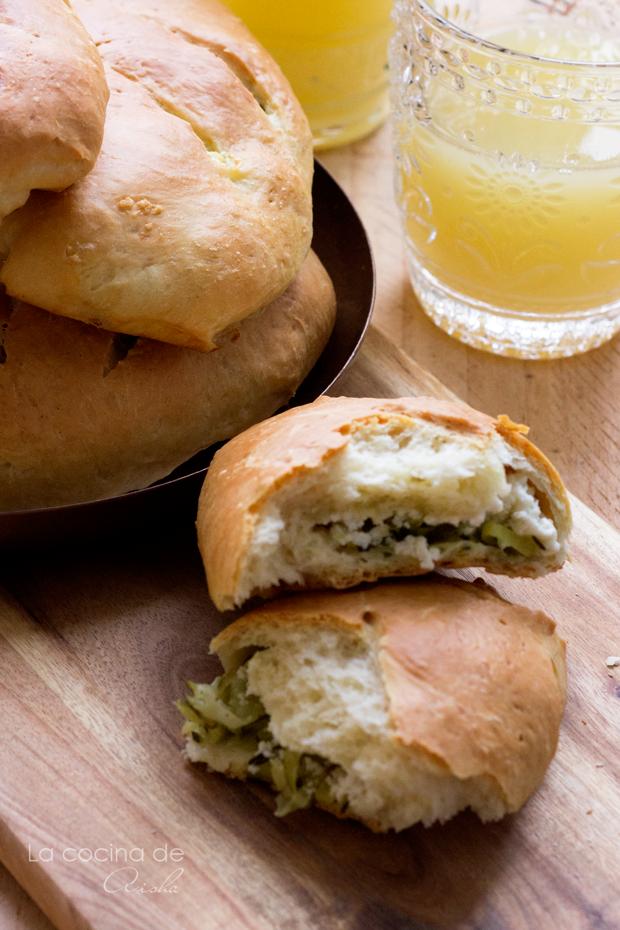 panecillos-rellenos-calabacín-queso-cabra