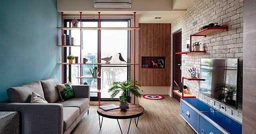 marzua apartamento juvenil y moderno de 60 metros