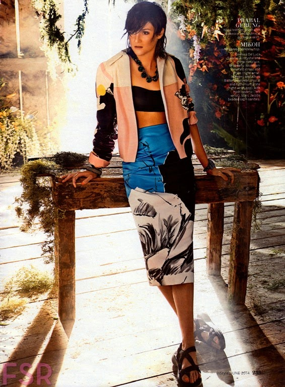 Shailene Woodley for InStyle Magazine, US, June 2014