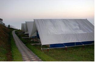 tent nilgiri resort, bandarban