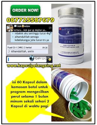 kapsul mengecilkan perut, kapsul pelangsing herbal
