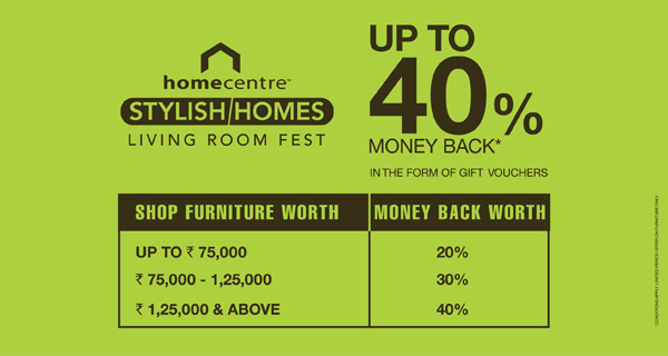 Sale at Home Centre
