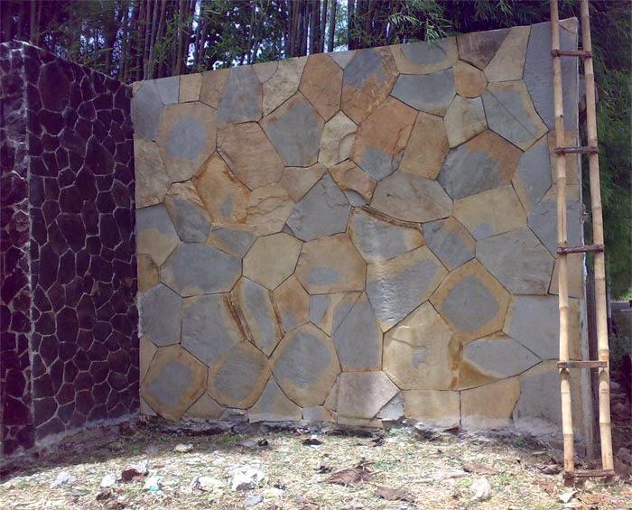 pagar rumah tembok