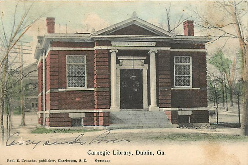 CARNEGIE LIBRARY BUILDING, 1904