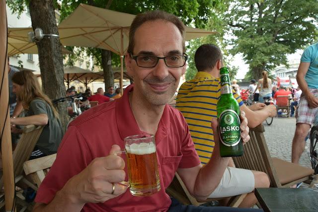 Ljubljana Lasko beer