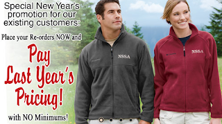EZ Corporates Custom Embroidered Clothing New Year's Special