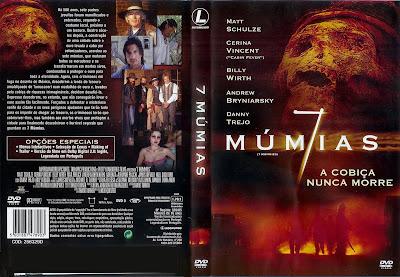 7 Múmias DVD Capa