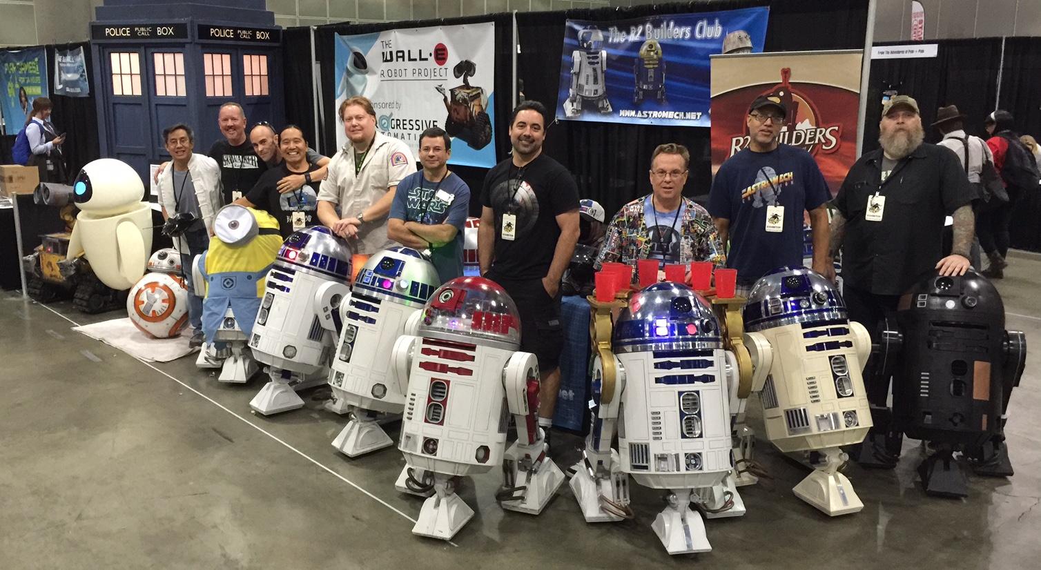 Adventures with R2-D2 & BB-8: Comikaze LA 2015