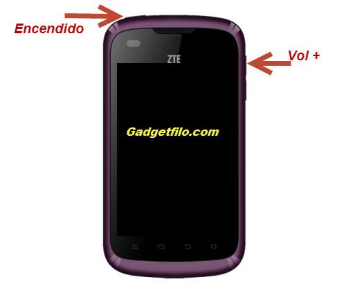 Full reset ZTE V793