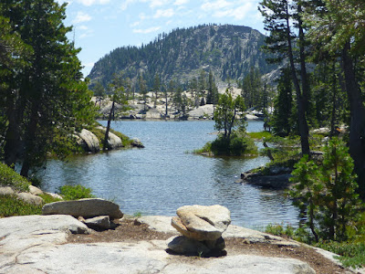 Paradise Lake north of Donner Summit