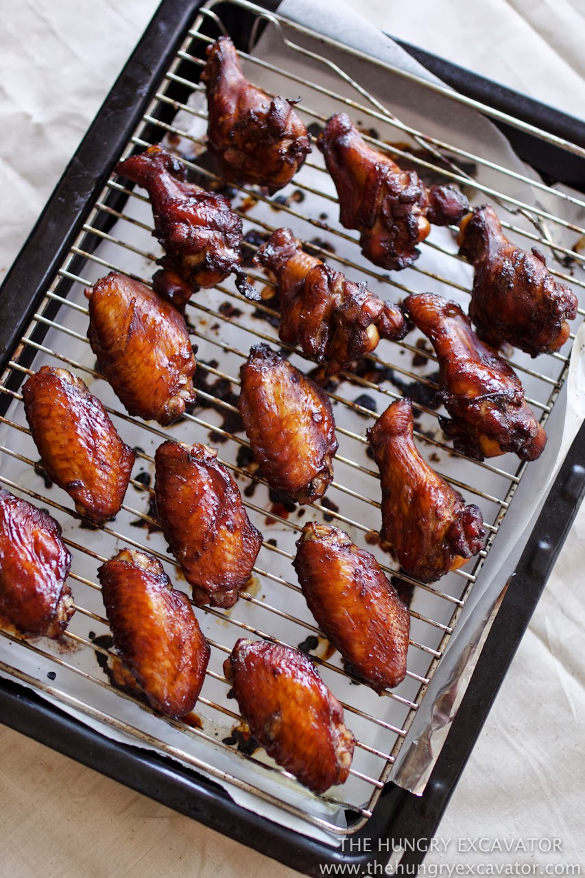 Malaysian Glazed Chicken Wings Recipe — Dishmaps