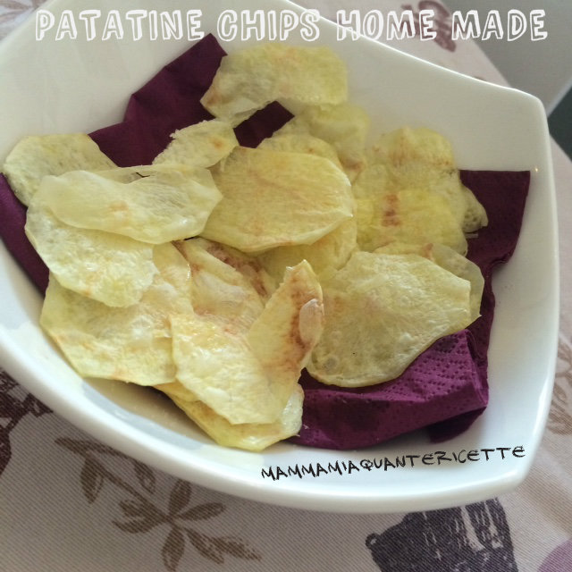 patatine chips home made