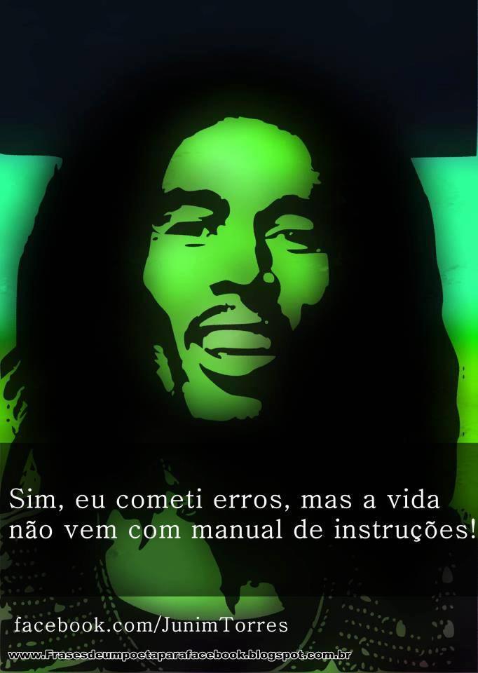Frases de Bob Marley . Reggae e genialidade.
