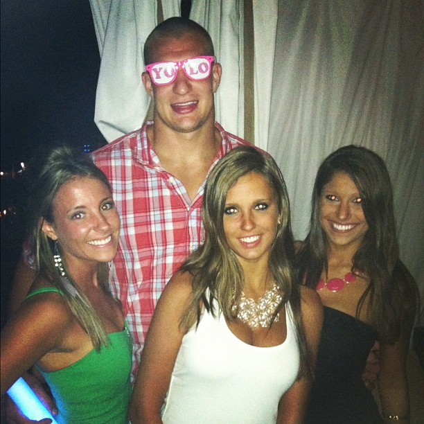 Woman Claiming To Be Gronk S Girlfriend Is Not His: Summer Of Gronk Bears Itself