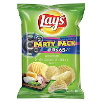 Buy Lays American Style Cream and Onion, 177g at Online Lowest Best Price Offer Rs. 58.50 : BuyToEArn