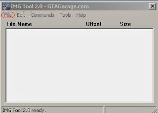 GTA San Andreas IMG Tools