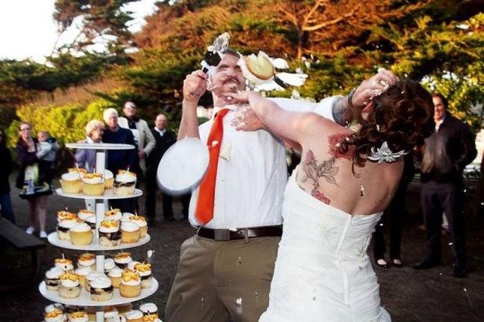 Свадебные приколы (42 фото) .