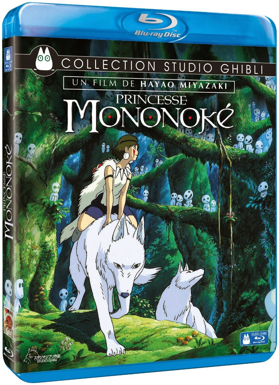 Blu-ray, Ghibli, Hayao Miyazaki, Princesse Mononoké, Actu Ciné, Cinéma,