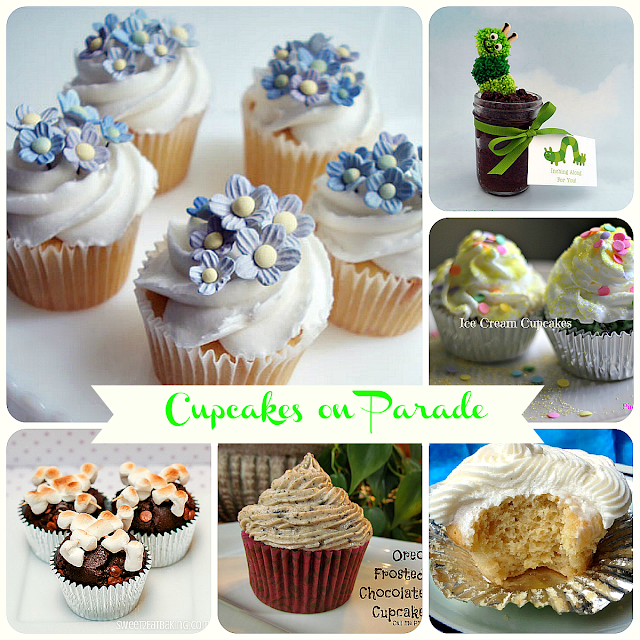 Cupcakes on Parade by Ducks 'n a Row #cupcakes