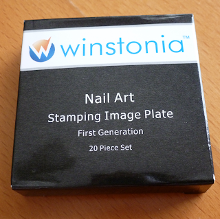 Winstonia Nail Art Stamping Plates first generation