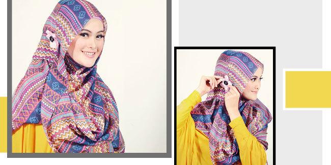 Cara Memakai Hijab Pashmina Sesuai Syariat