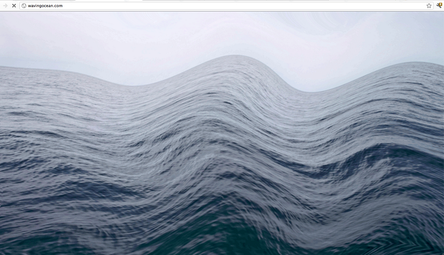 Animated water waves gif