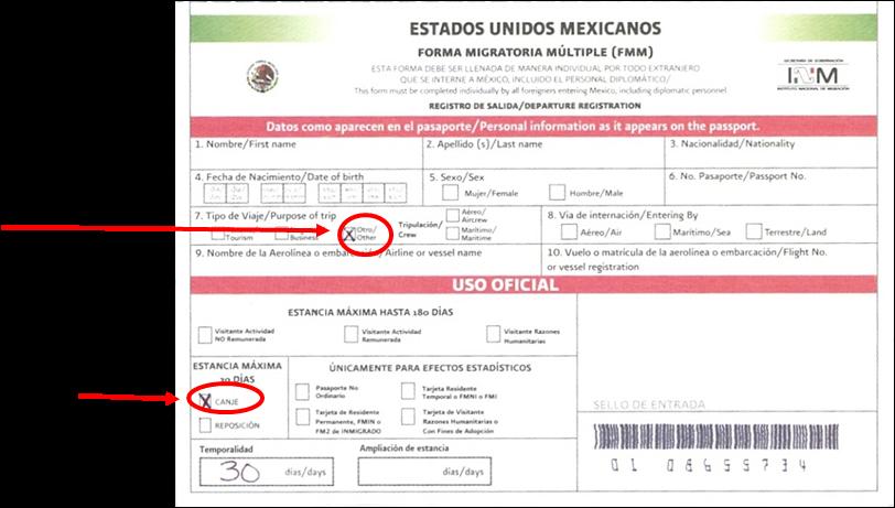 EMIGRANTES EN MÉXICO: SOLICITUD DE VISA POR UNIÓN FAMILIAR