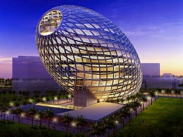 Luxurious Incredible Buildings From The Future