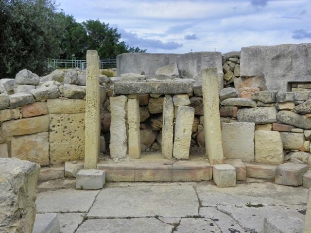 Altares en los Templos de Tarxien Malta