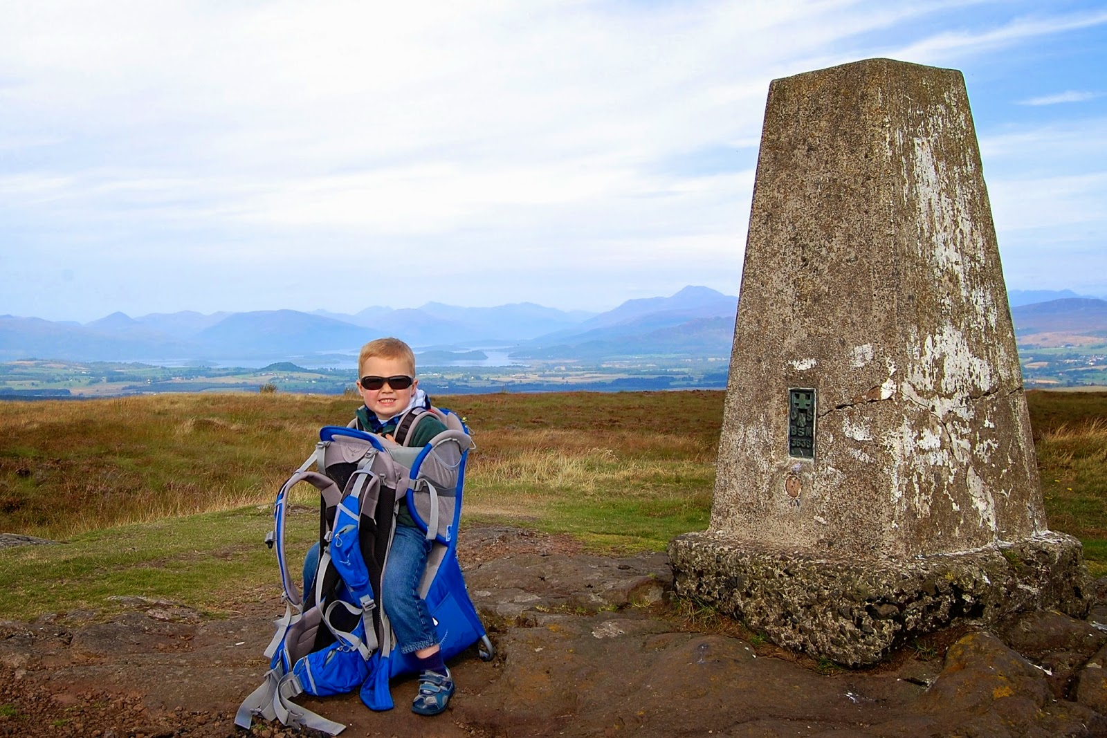 Jackson at a trig point
