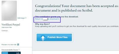 trik download dokumen scribd gratis telah berhasil