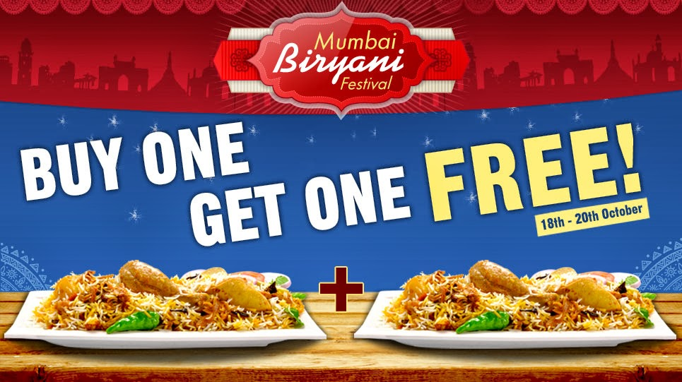 Offers dhamaal india foodpanda offer buy 1 get 1 for Aroma indian cuisine coupon