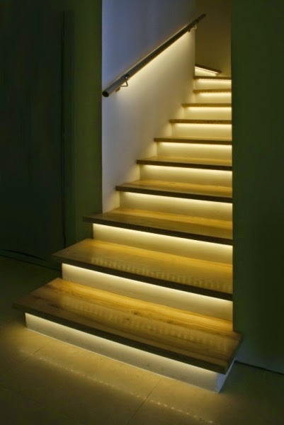 schody LED