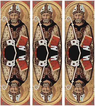 Sant'Agostino di Simone Martini, rivisitato